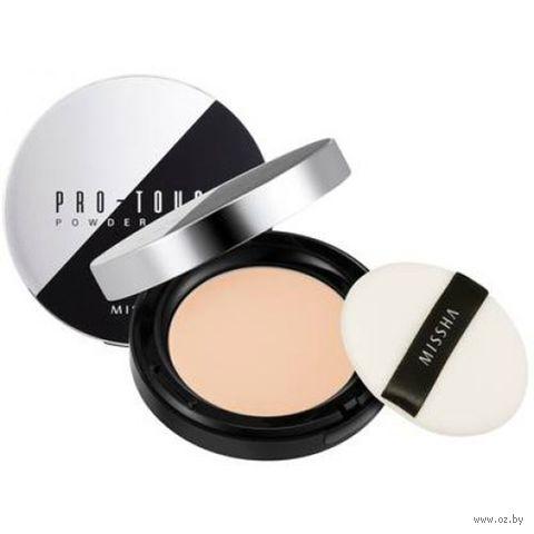 """Компактная пудра для лица """"Pro-Touch"""" SPF 25 тон: 23, natural beige — фото, картинка"""