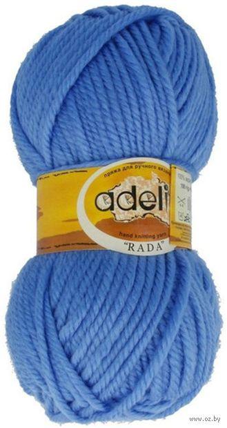 "Пряжа ""Adelia. Rada №22"" (100 г; 80 м; голубой) — фото, картинка"