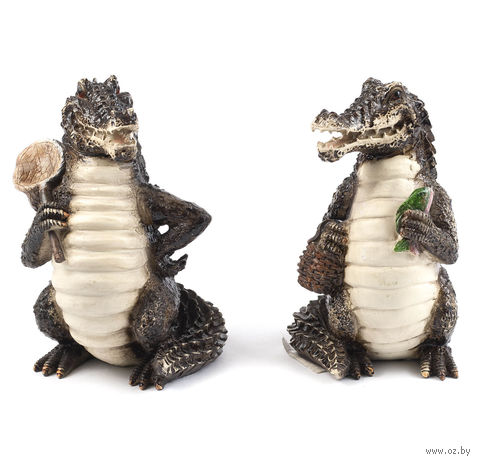 "Статуэтка ""Крокодил"" (пластик, 9*9,5*15,5 см)"