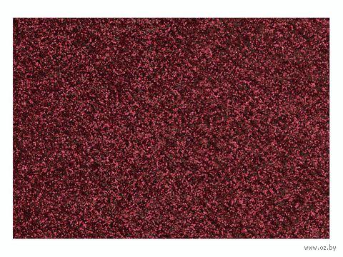 """Фольга для декорирования ткани """"Красный"""" (296х204 мм) — фото, картинка"""