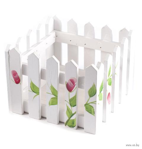 Кашпо для цветов (15х15х11 см) — фото, картинка