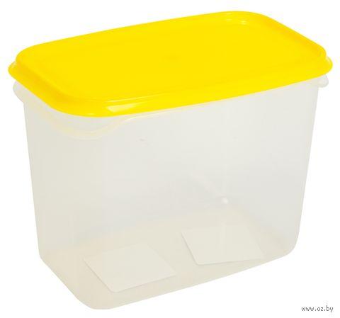 """Контейнер для еды """"Venecia"""" (1 л; лимон) — фото, картинка"""