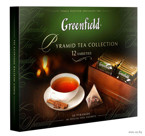 "Чай ""Greenfield. Коллекция ассорти"" (60 пакетиков) — фото, картинка"