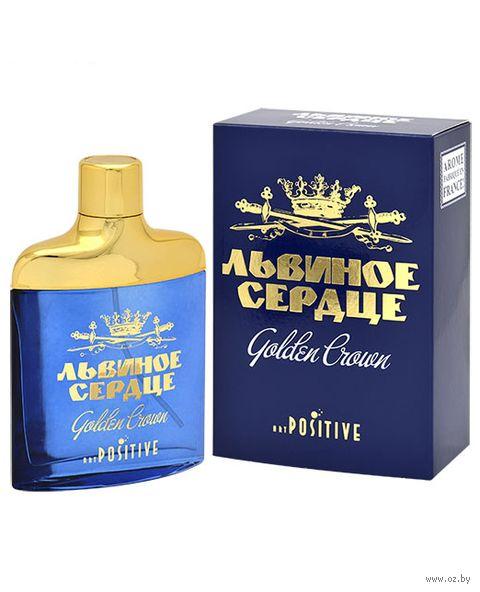 "Туалетная вода для мужчин ""Львиное сердце. Golden Crown"" (85 мл) — фото, картинка"
