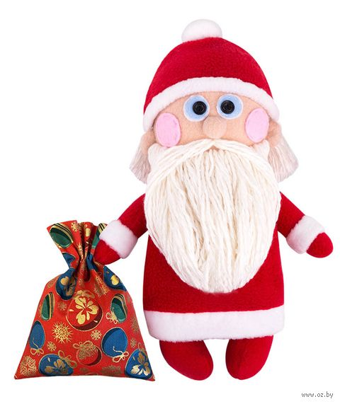 "Набор для шитья из ткани ""Дедушка Мороз"" — фото, картинка"