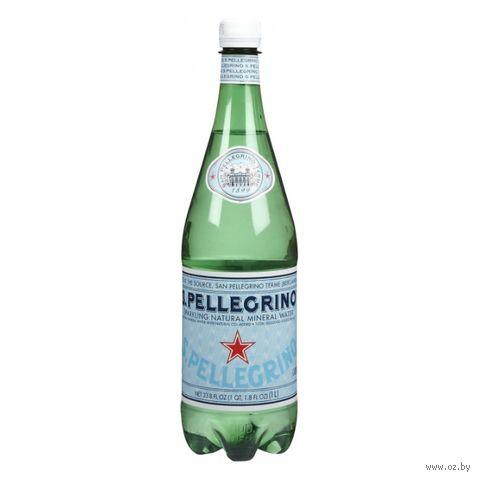 """Вода минеральная """"S. Pellegrino"""" (1 л) — фото, картинка"""