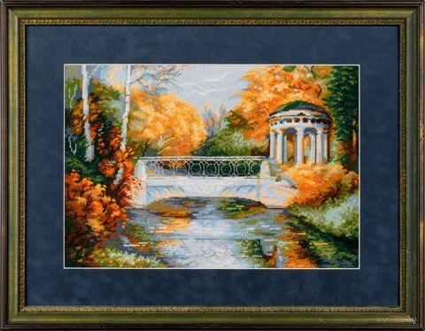 "Вышивка крестом ""Осенний парк"" (арт. 1195)"