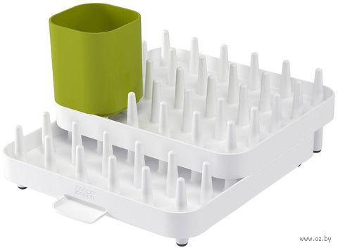 """Сушилка для посуды """"Connect"""" (бело-зеленая)"""