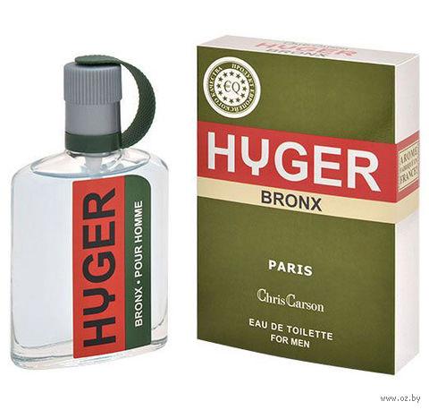 """Туалетная вода для мужчин """"Hyger Bronx"""" (90 мл)"""