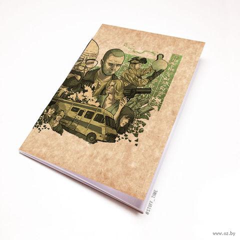 """Блокнот крафт """"Во все тяжкие"""" (А7; арт. 230) — фото, картинка"""