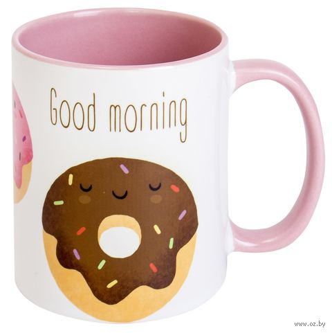 "Кружка ""Good morning"" (арт. 018) — фото, картинка"
