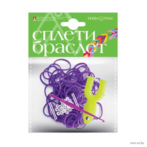 """Набор для плетения из резиночек """"Фиолетовый"""" (1000 шт.) — фото, картинка"""