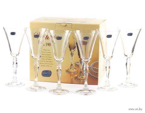 """Бокал для вина стеклянный """"Victoria"""" (6 шт.; 230 мл) — фото, картинка"""