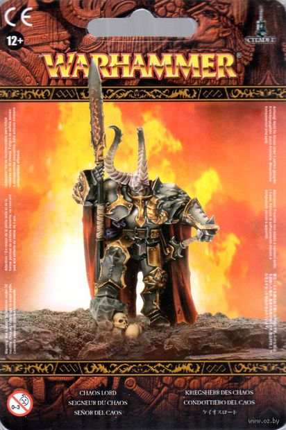 Warhammer Age of Sigmar. Slaves to Darkness. Chaos Lord (83-21) — фото, картинка