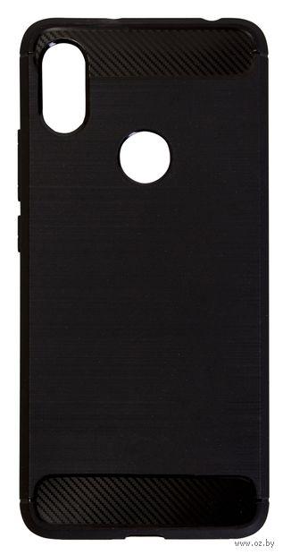 Чехол Case для Xiaomi Redmi S2 Brush (черный) — фото, картинка