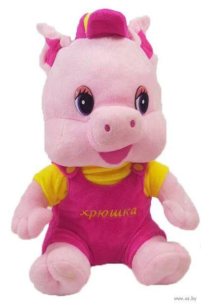 "Мягкая игрушка ""Свинка"" (27 см) — фото, картинка"
