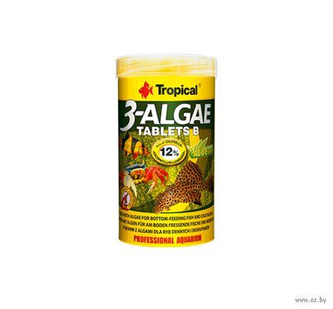 """Корм для рыб """"3-Algae Tablets B"""" (150 г) — фото, картинка"""