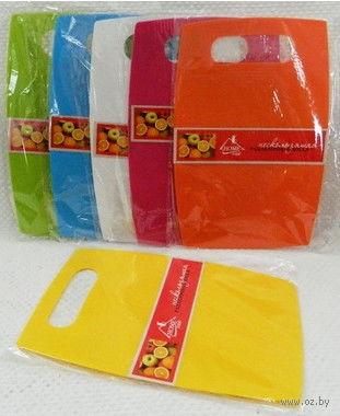 Доска разделочная пластмассовая (20,5*30,5*0,2 см, арт. HH2030PP)