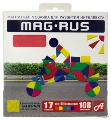 """Мозаика магнитная """"Спорт"""" (108 элементов)"""