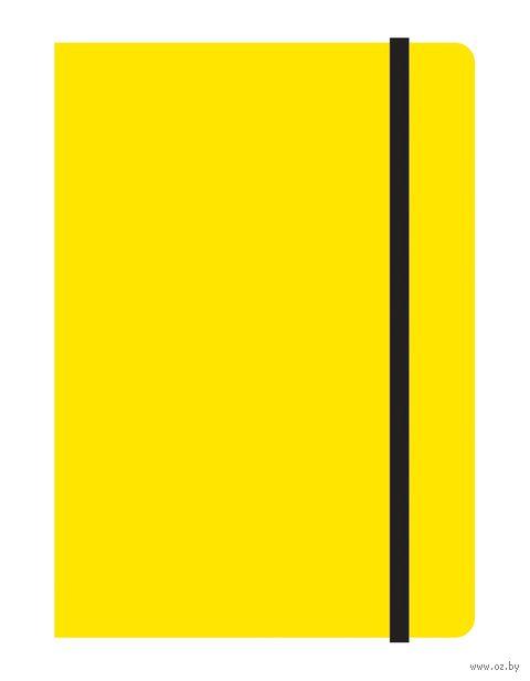 """Блокнот в клетку """"Study up"""" (А6; желтый) — фото, картинка"""