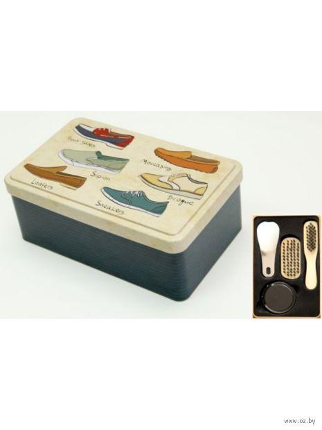 Набор для ухода за обувью (18,4х11,5х7,2 см; арт. 40920) — фото, картинка
