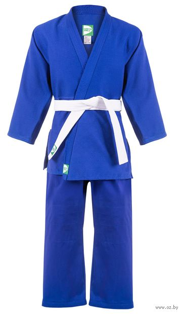 Кимоно для дзюдо MA-302 (р. 2/150; синее) — фото, картинка