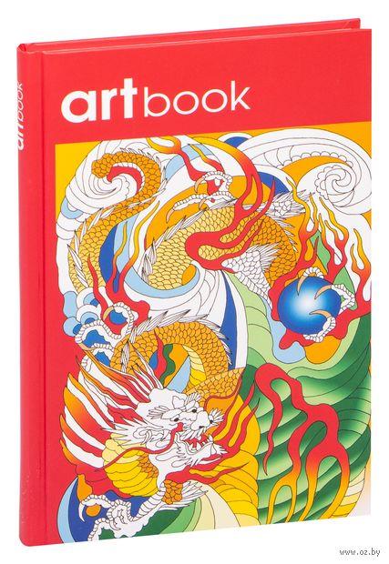 Записная книга-раскраска. ARTbook. Китай — фото, картинка