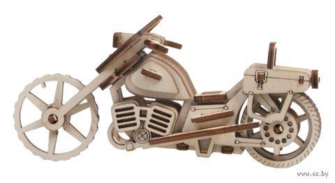 """Сборная деревянная модель """"Мотоцикл Майк"""" — фото, картинка"""