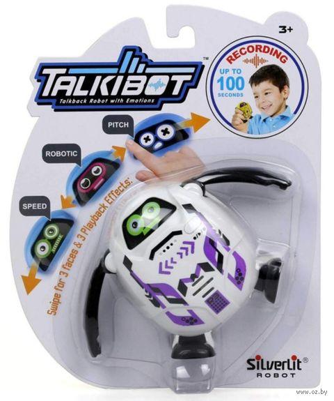 """Интерактивная игрушка """"Talkibot"""" (белый; со световыми эффектами) — фото, картинка"""