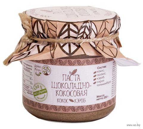 """Паста кокосово-арахисовая """"Древо Жизни. Шоколадно-кокосовая"""" (200 г) — фото, картинка"""