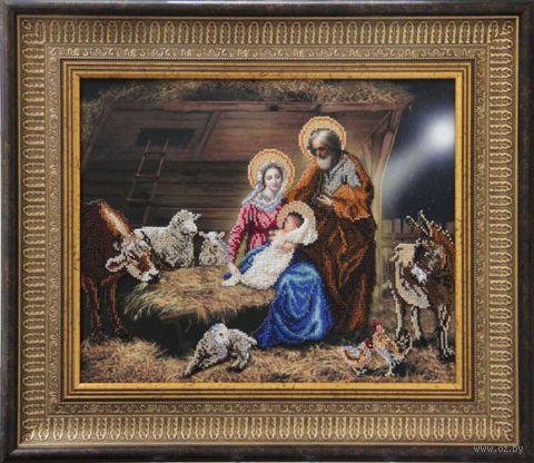 """Вышивка бисером """"Рождество Христово"""""""