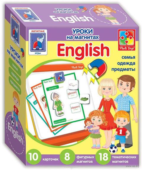 "Набор магнитов ""English. Семья"" — фото, картинка"