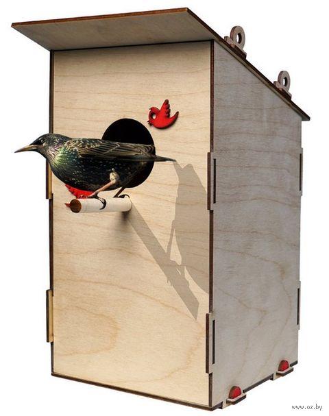 """Сборная деревянная модель """"Скворечник для птиц"""" — фото, картинка"""