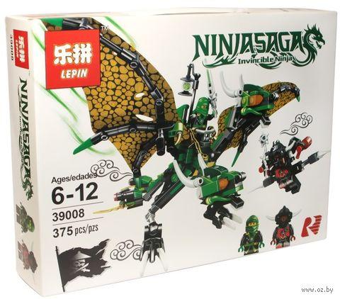 """Конструктор Ninjasaga """"Зелёный Дракон Ллойда"""" — фото, картинка"""
