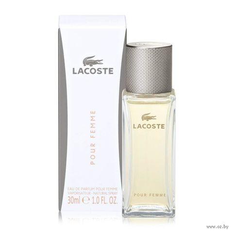 """Парфюмерная вода для женщин Lacoste """"Pour Femme"""" (30 мл) — фото, картинка"""