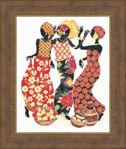 """Вышивка крестом """"Африканки"""""""