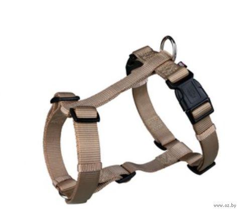 "Шлея для собак ""Premium H-harness"" (размер M-L, 50-75 см, бежевый, арт. 20345)"