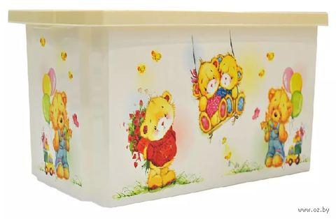 """Ящик для хранения игрушек """"Bears"""" (арт. LA1025IR) — фото, картинка"""