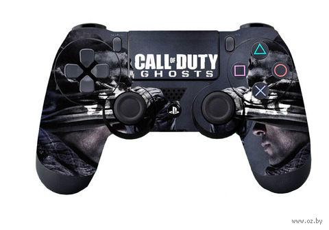 """Наклейка защитная для геймпада """"Call of Duty: Ghosts"""" (p4hm8600) (PS4)"""