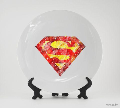 """Тарелка """"Супермен"""" (231)"""