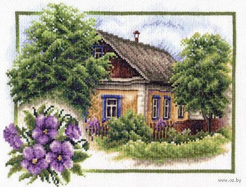 "Вышивка крестом ""Лето в деревне"" (260х200 мм) — фото, картинка"