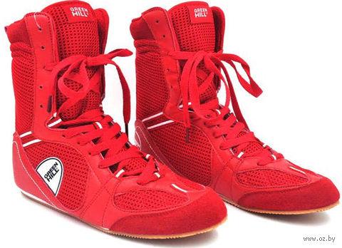 Обувь для бокса PS005 (р. 38; красная) — фото, картинка