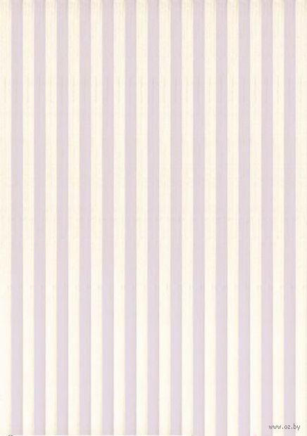 """Бумага для декупажа рисовая """"Полоски"""" (21х30 см; арт. AM400364) — фото, картинка"""