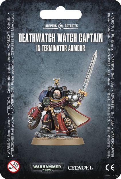 Warhammer 40.000. Deathwatch. Terminator Captain (39-23) — фото, картинка