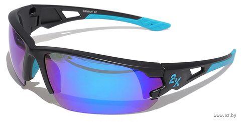 """Очки солнцезащитные """"S-15001-E"""" (чёрные) — фото, картинка"""