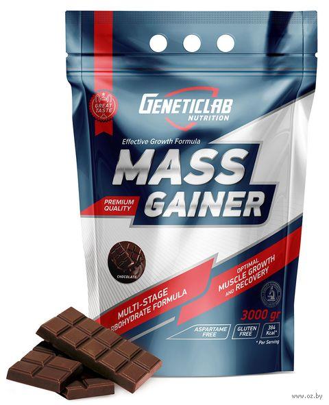 "Гейнер ""Mass Gainer"" (3000 г; шоколад) — фото, картинка"