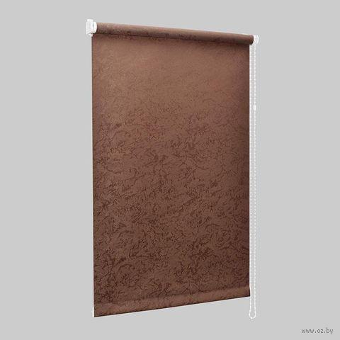 """Штора рулонная """"Сантайм. Венеция"""" (73х170 см; шоколад) — фото, картинка"""