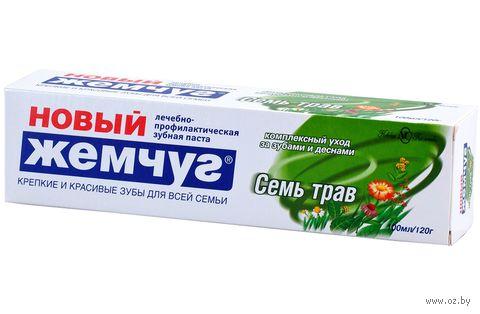 "Зубная паста ""Семь трав"" (100 мл) — фото, картинка"