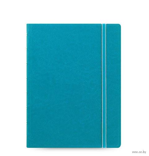 "Записная книжка Filofax ""Notebook Classic"" (A5; бирюзовая)"