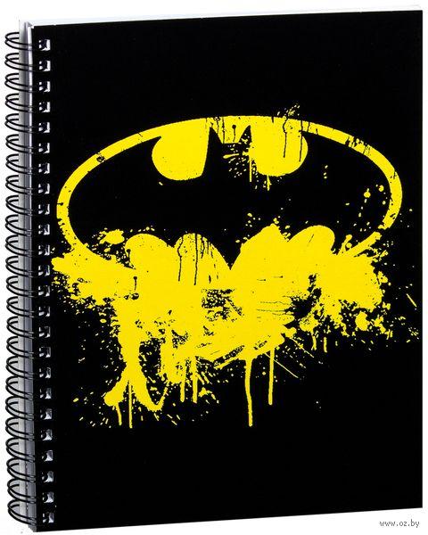 """Блокнот в клетку """"Бэтмен"""" (A5; арт. 067) — фото, картинка"""